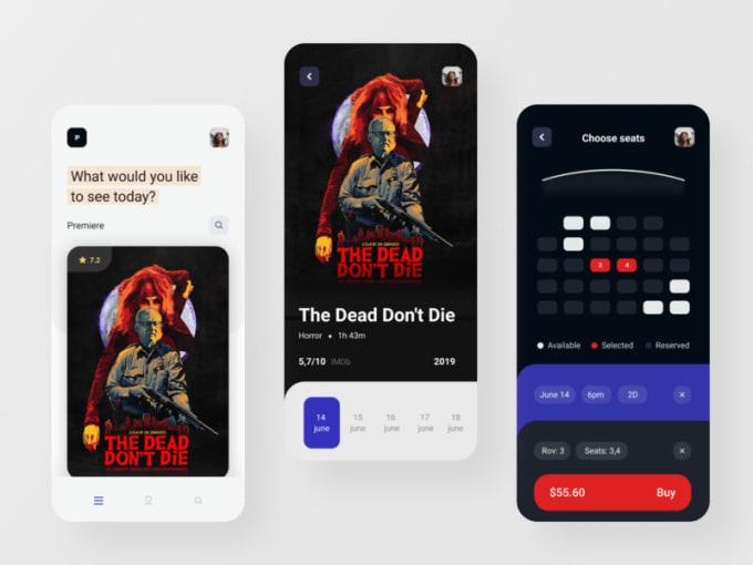 Develop Movie Ticket Booking App Like Bookmyshow By Raghav764