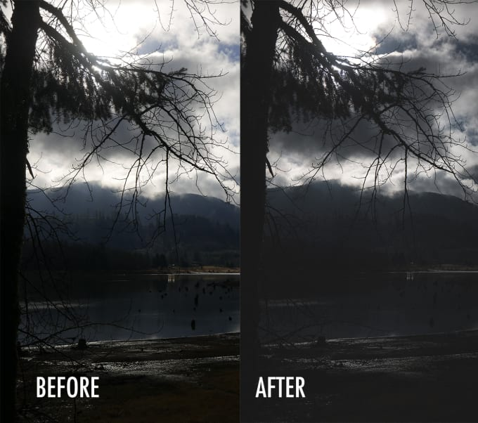edit 5 of your pictures on adobe lightroom in 1 hour