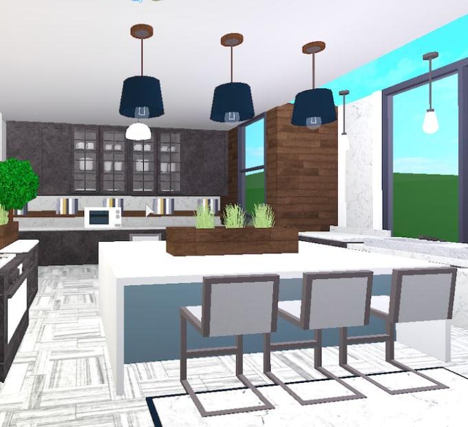 Build You A Modern Bloxburg House By Fazed_builder