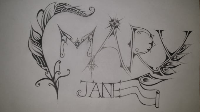 draw your amazing name or word