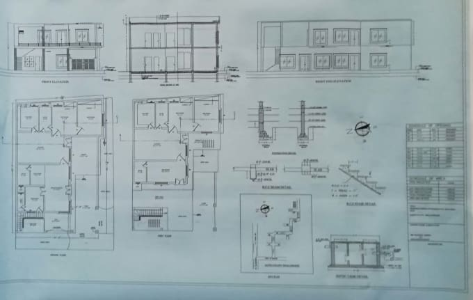 Do Autocad 2d 3d Architectural Floor Planning By