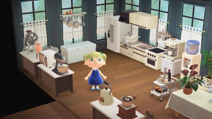 Animal crossing kitchen and diner set by Zstanyer1 on Kitchen Items Animal Crossing  id=55530