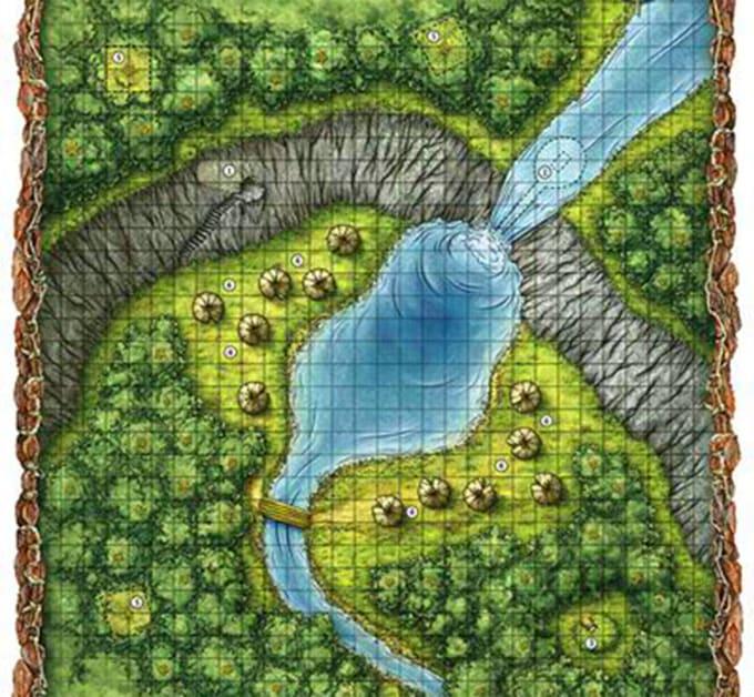 do your fantasy map