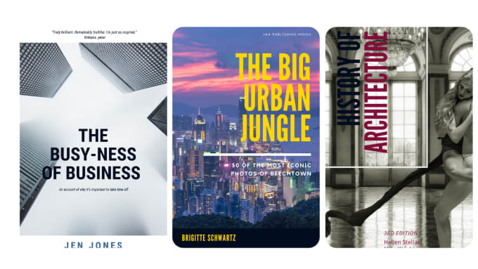 design book cover, format, and ebook conversion