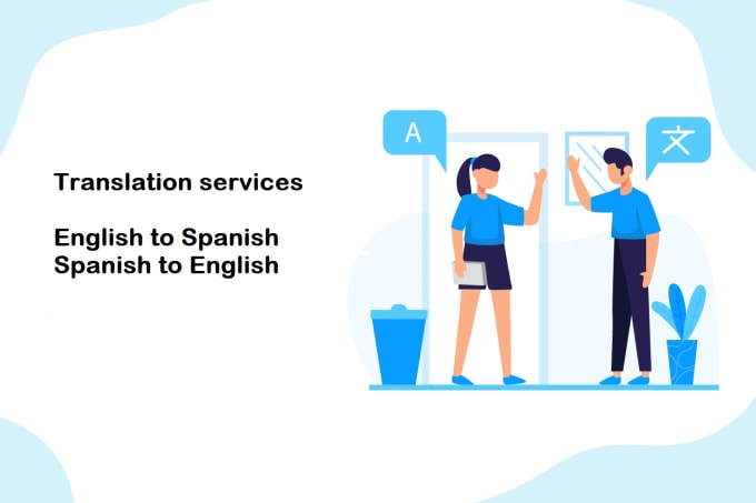 manually translate any document from english to spanish and viceversa