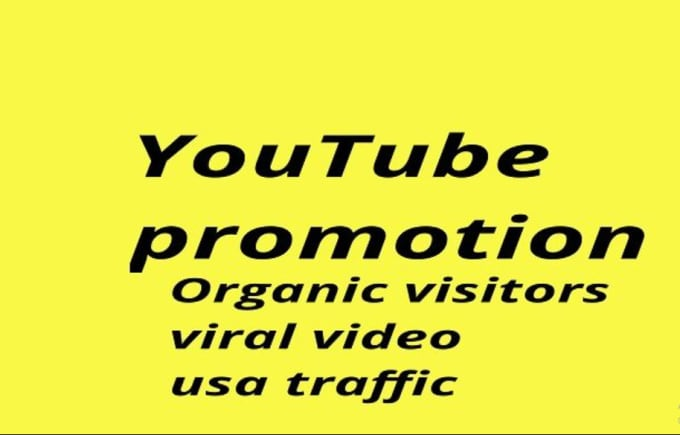 do USA, spain, germany youtube video promotion