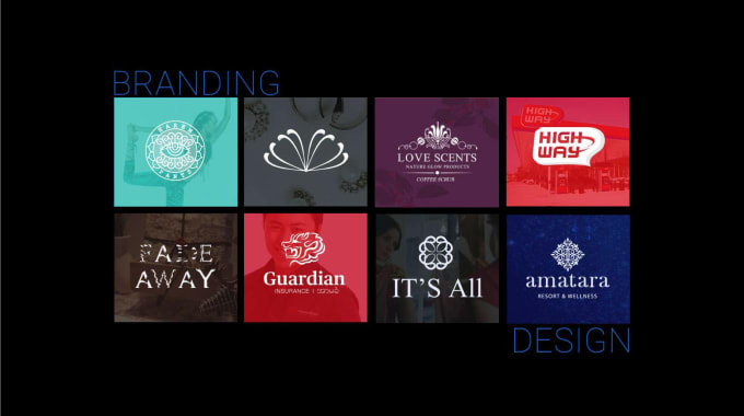 create a logo and branding with identity suite