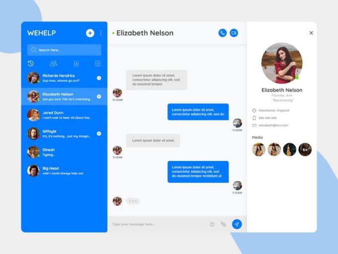 Build social chat app, social media app, dating app, chat