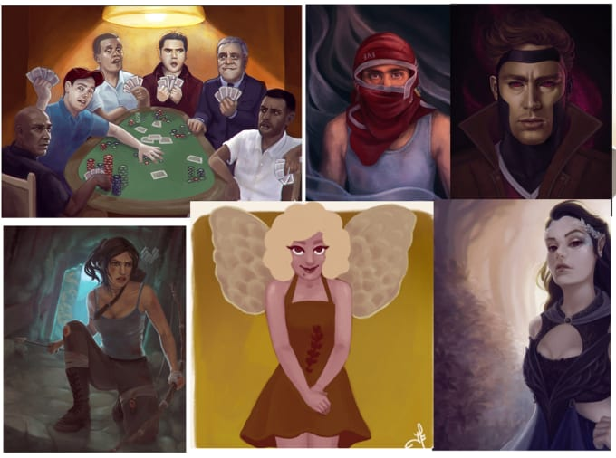 design your character illustration