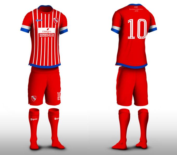 Poner tu diseño en una camiseta de fútbol by Joanotero Fiver