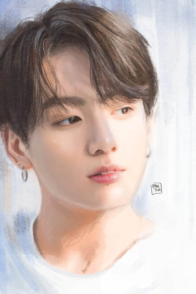 make you a bts fanart