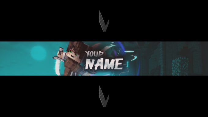 Design An Epic Youtube Banner By Viktorgfx