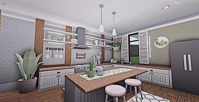 Make You A Amazing Bloxburg Kitchen By Jacksilver