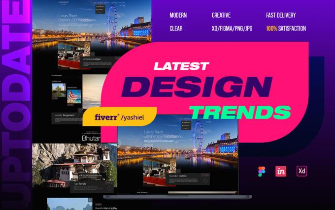 design a unique, beautiful website for you