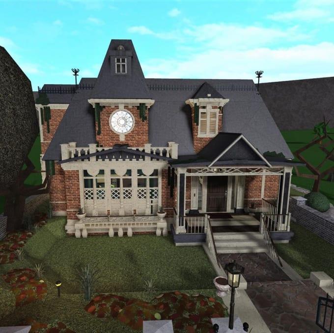 design the exterior of your bloxburg home