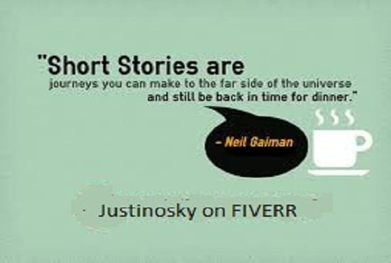 write all your fictional stories