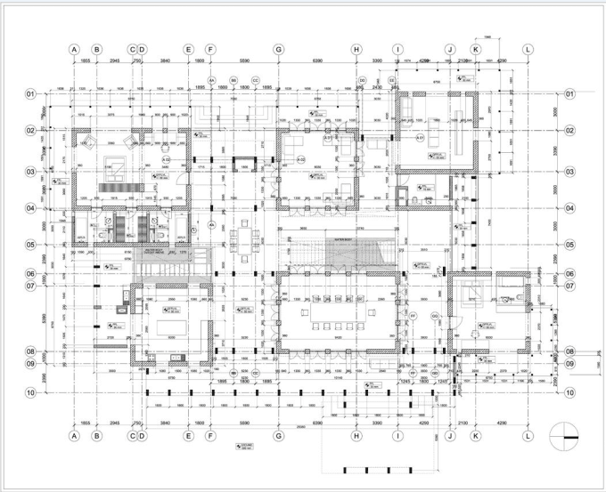 Design 2d Plan,architectural Floor Plan On Autocad