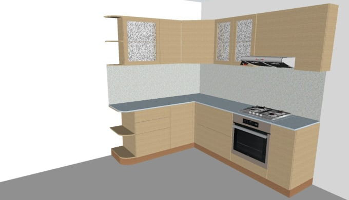 Kitchen Designer Interior Sketchup By Yerza3377