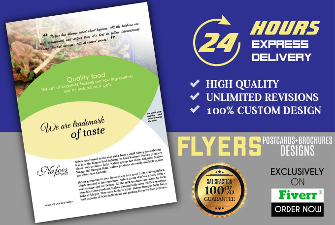 c9b6a3337fba Design an awesome flyers by Logoartified