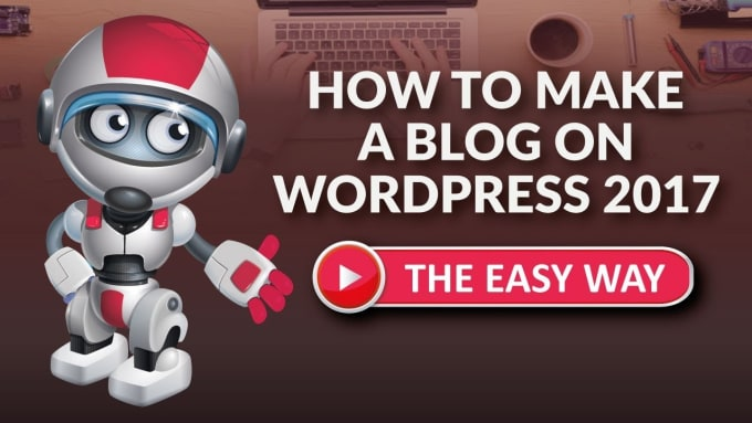create a professional wordpress website with blog for you