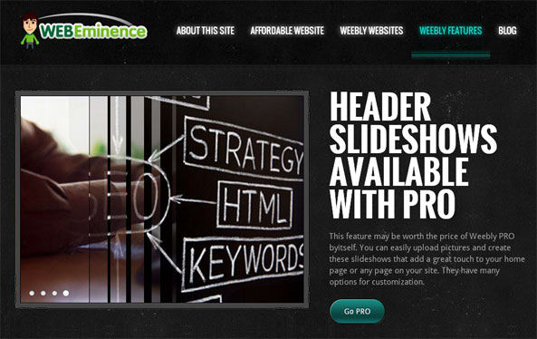 build a stunning website with weebly check my sample website