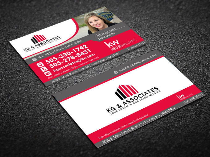 design real estate business cards by virtualine