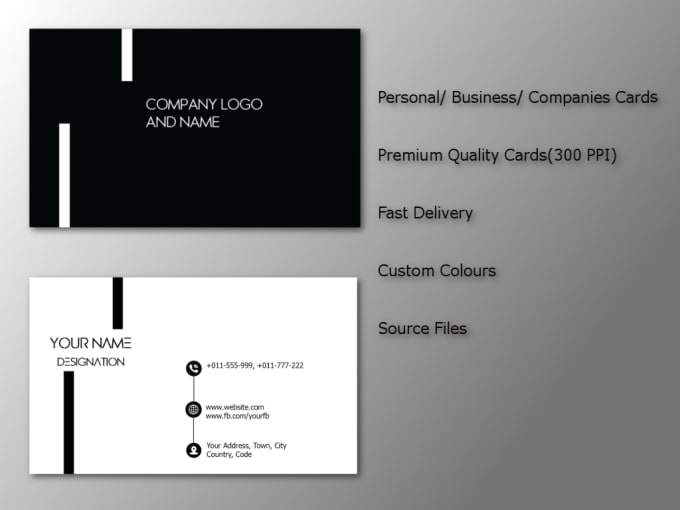 Design double sided business cards in one day by sachinhaldu design double sided business cards in one day colourmoves