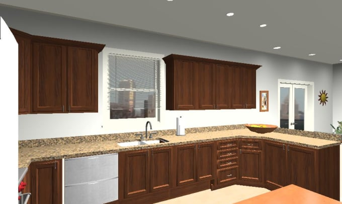 Create A 48d And 48d Rendering Space Plan And Interior Design By New 2D Interior Design Property