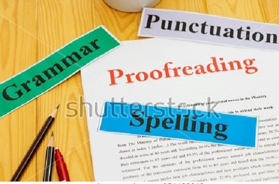 be your proofreader and book editor