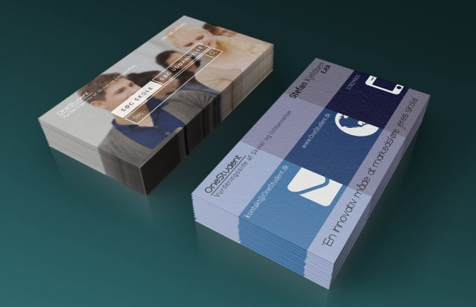 Design Modern Minimal Business Card For Professionals Within 6 Hours