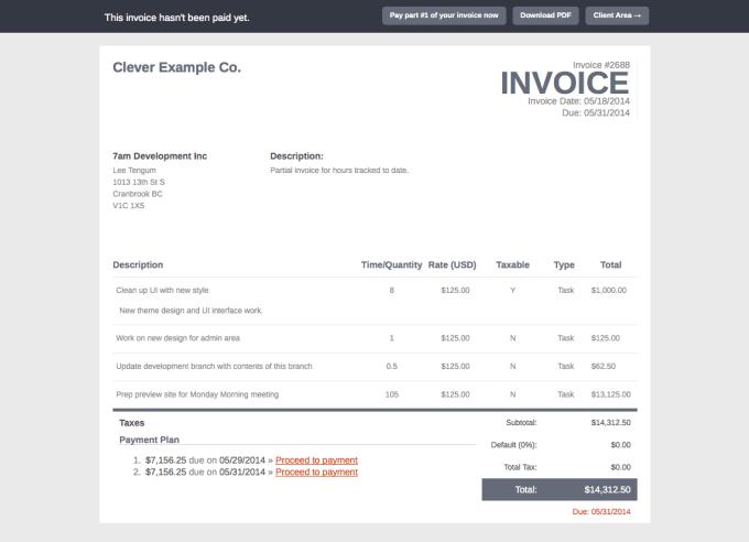 design custom invoice software by katebella79