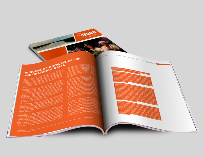 design a beautiful magazine for your brand