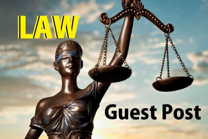 write and publish a guest post on law blog