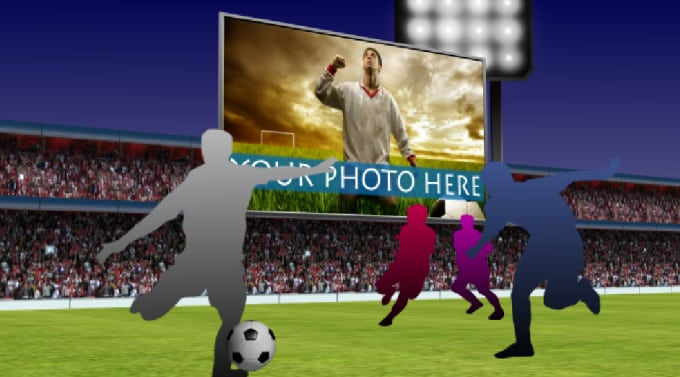 customize this 3d after effects sports template for you