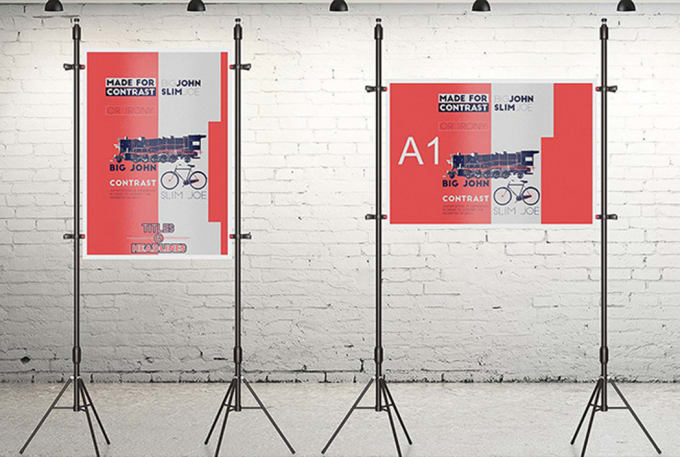design a0, a1, a2 sizes poster