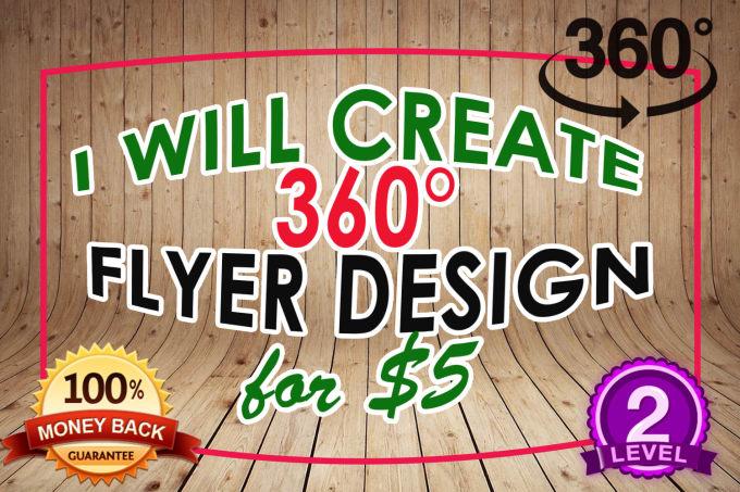 Design 360 Degree Flyer