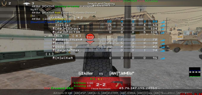 shanecalvin968 : I will make you a call of duty 4 multiplayer server for  $10 on www fiverr com