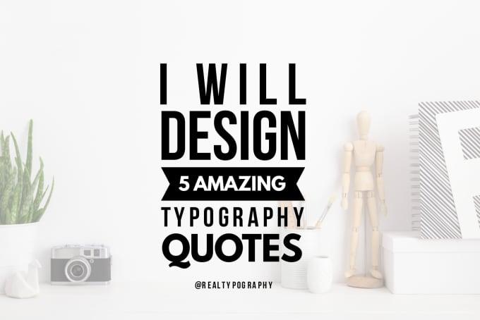 design amazing typography quotes by ali raxa