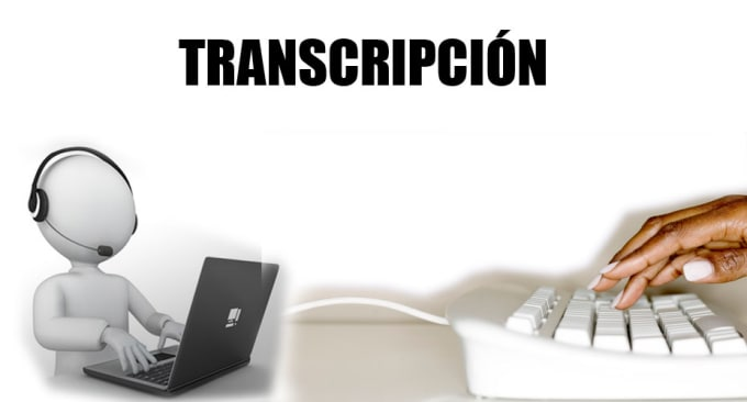 do audio transcription in spanish
