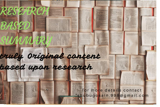 write brief summary of any detailed text for you