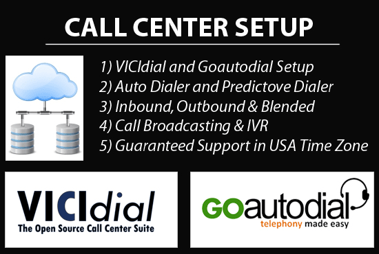 build your own call center using vicidial and goautodial