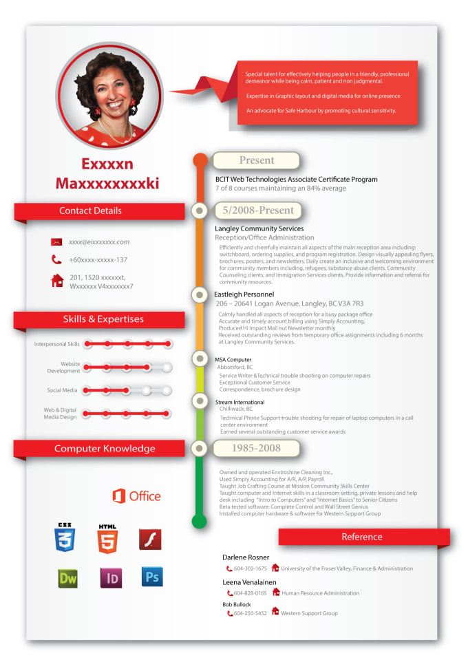 design and fix your resume to get you hired by etharaljubori