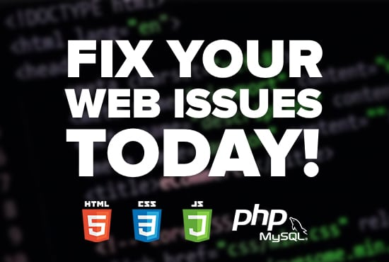 fix or add new features to php, html, css or javascript code