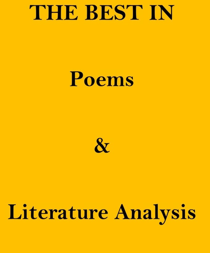 a literary analysis of the poetry by frederic woolley Stung by woolley's denigration of his poetry, howe is nonplussed a week later when tertan appears in his office to announce that he has read woolley's essay, that he, tertan, is an aspiring.