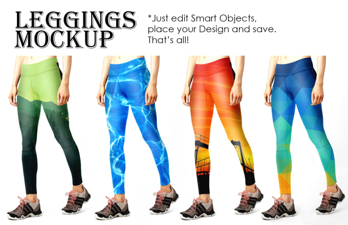create leggings mockup psd templates by miraway