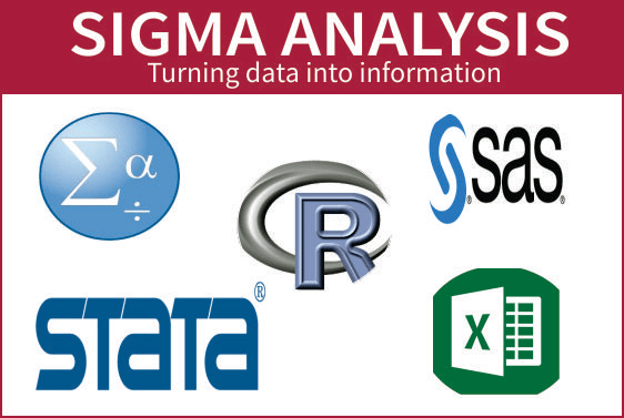 do your statistics using r,spss,sas,stata and excel
