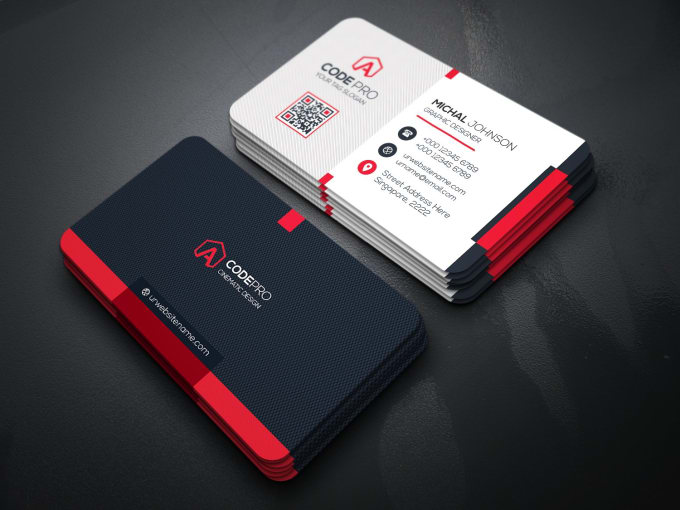 Design professional business card by Rihat76