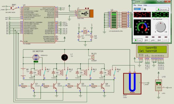 Design and simulate circuit in proteus arduino multisim