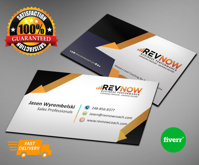 Design professional realistic business card by homosapiens colourmoves