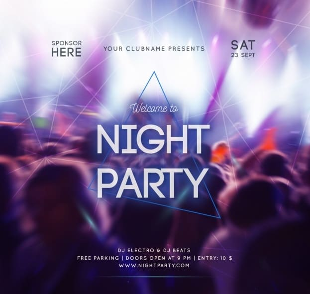 design a creative event and party flier by sheggietyn